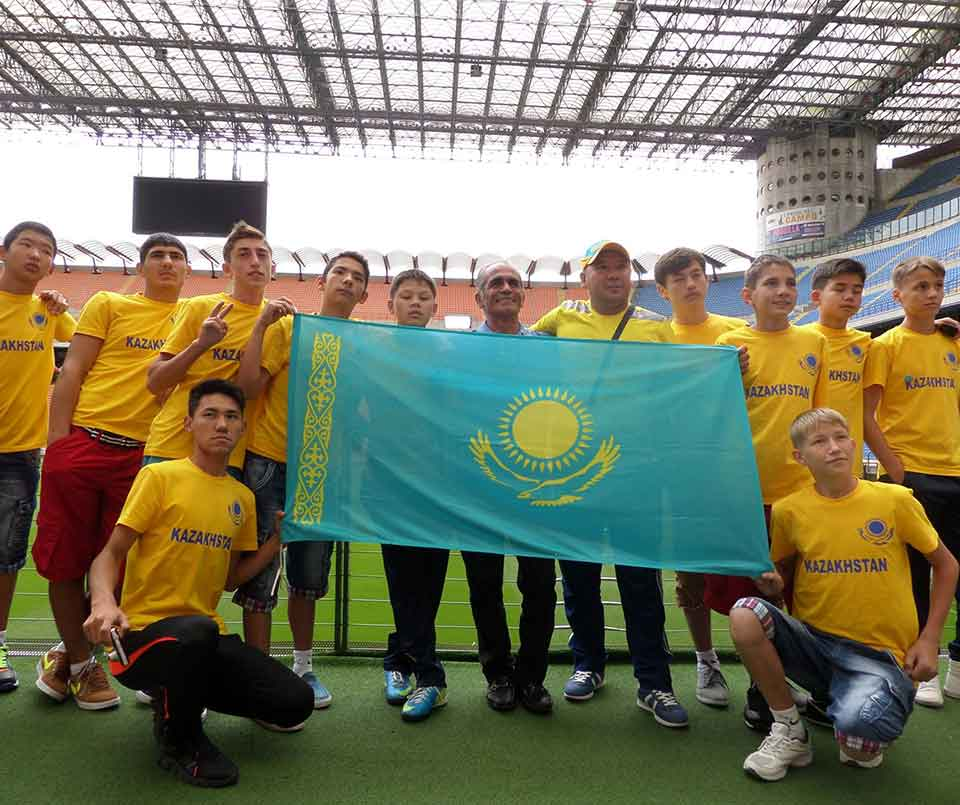 Football team Kazakhstan