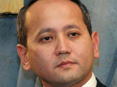 Mukhtar Ablyazov, former chairman of BTA Bank, has been convicted of breaching a freezing order VLADIMIR TRETYAKOV/REUTERS